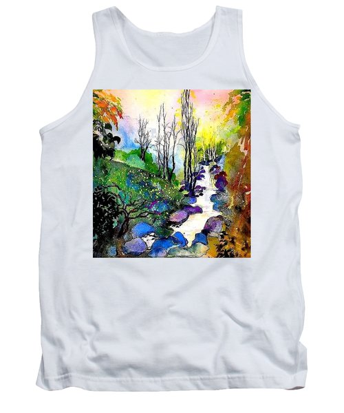 Water And Air Tank Top