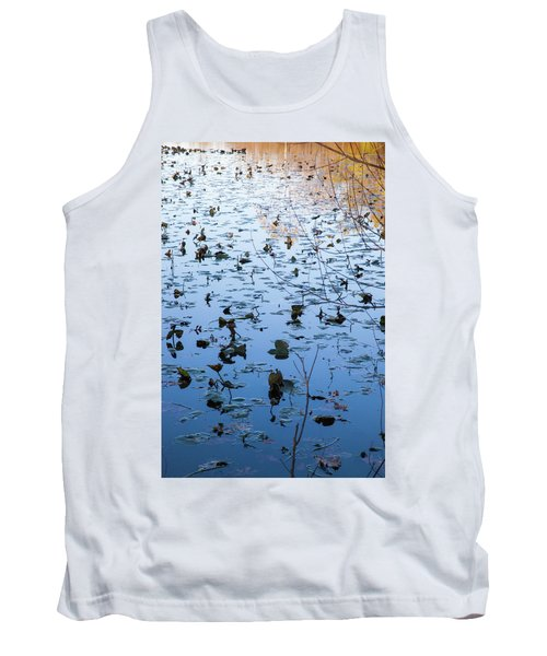 Water Lilies Autumn Song Tank Top