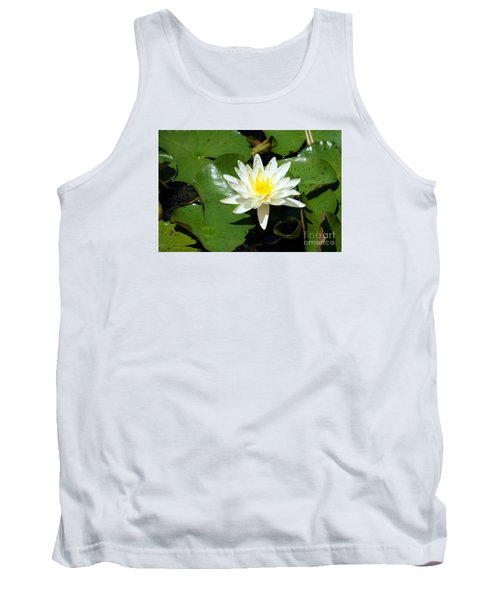 Water Lily 7 Tank Top
