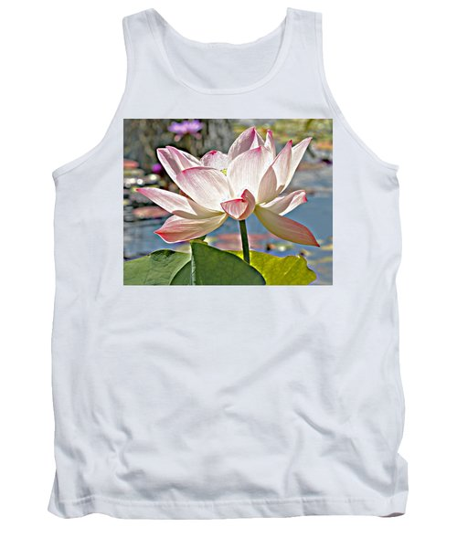 Water Lily Tank Top by Catherine Alfidi