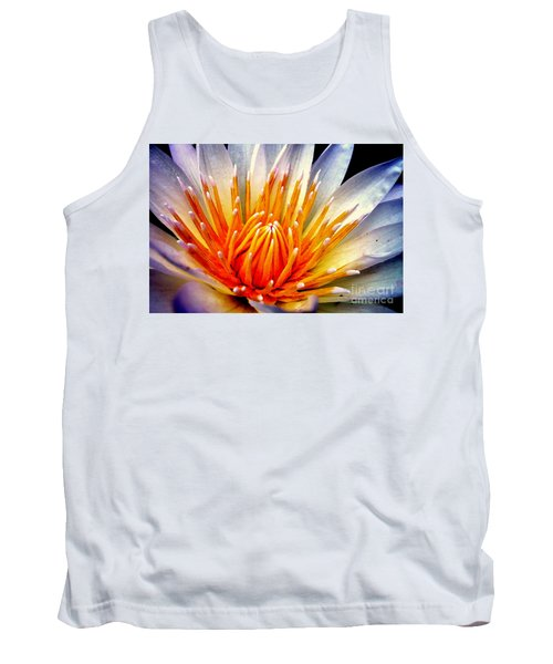 Water Lily Flower Tank Top