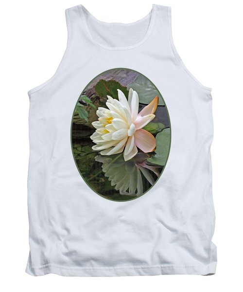 Water Lily Reflections Tank Top by Gill Billington