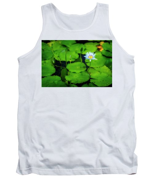 Tank Top featuring the photograph Water Logged by Ryan Manuel