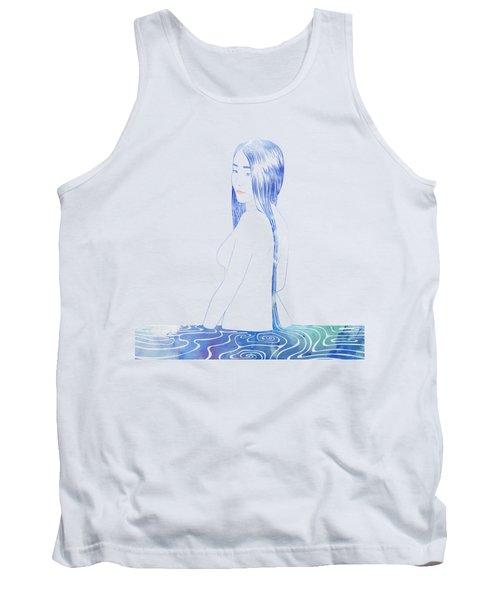 Water Nymph Xcii Tank Top by Stevyn Llewellyn