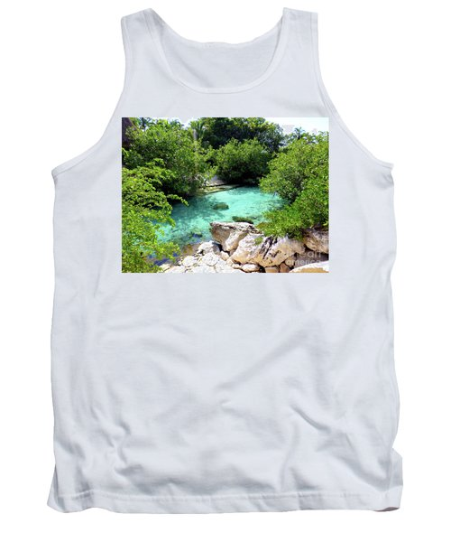 Tank Top featuring the photograph Water Shallows by Francesca Mackenney