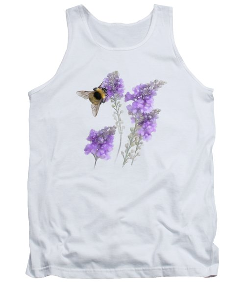 Watercolor Bumble Bee Tank Top