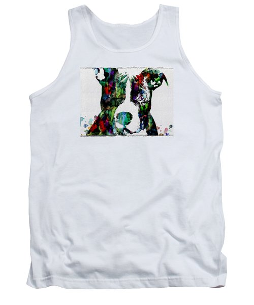 Watercolor Dog Art Prints And Posters Tank Top