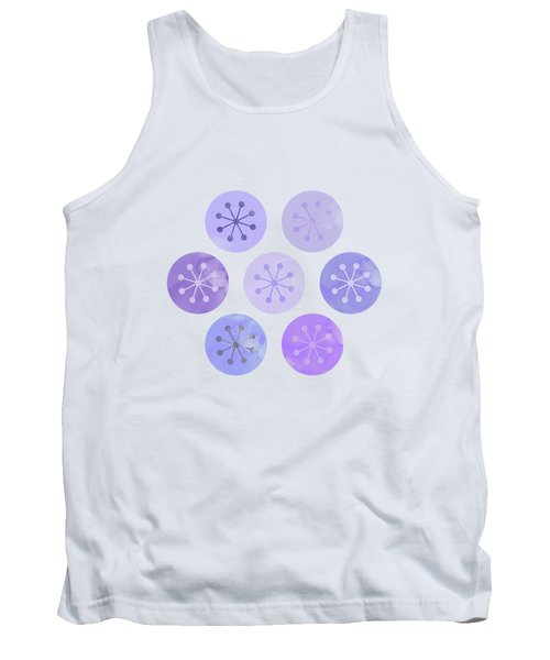 Watercolor Lovely Pattern II Tank Top