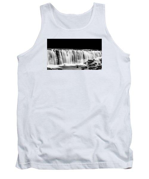 Waterfall At Night Tank Top