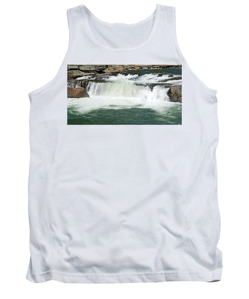 Waterfall At Ohiopyle State Park Tank Top