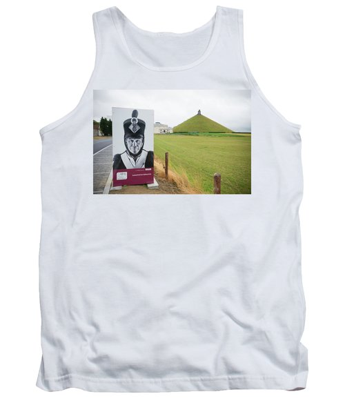 Tank Top featuring the photograph Waterloo Memorial by Hans Engbers