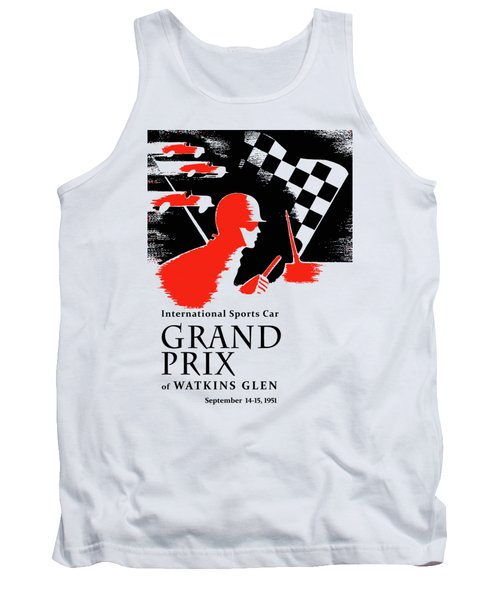 Watkins Glen Grand Prix 1951 Tank Top