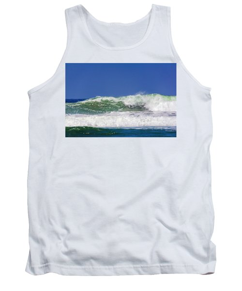 Wave Rolling To The Beach Tank Top
