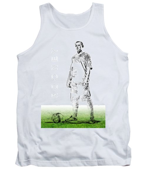 Wayne Rooney Tank Top by ISAW Gallery