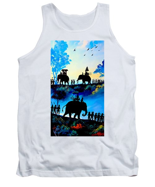 We March At Sunrise  Tank Top by Ian Gledhill