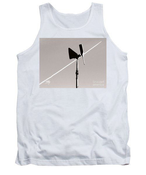 Tank Top featuring the photograph Weather Vane by Linda Hollis