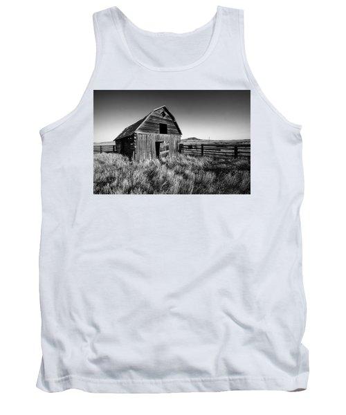 Weathered Barn Tank Top