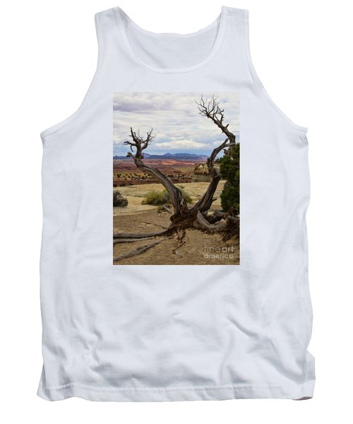 Weathered Tank Top by Steven Parker
