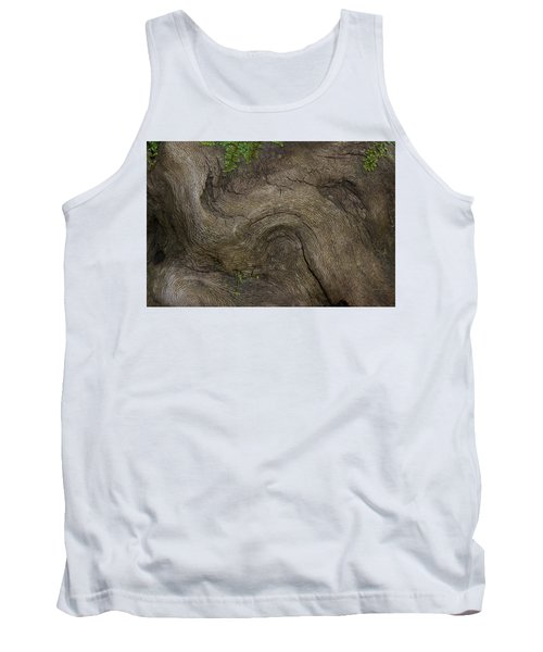 Tank Top featuring the photograph Weathered Tree Root by Mike Eingle