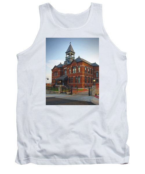 Tank Top featuring the photograph Webster House by Jim Mathis