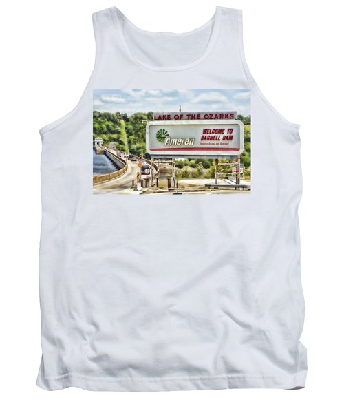 Welcome To Bagnell Dam Tank Top