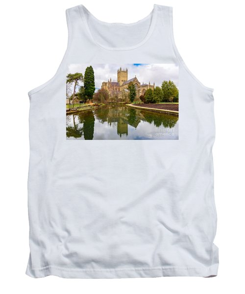 Wells Cathedral Tank Top by Colin Rayner