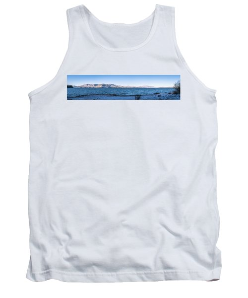 West Almanor Blue Tank Top