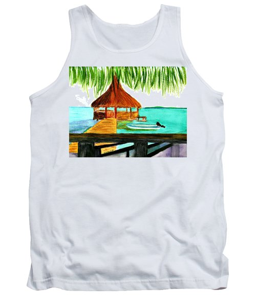 West End Roatan Tank Top by Donna Walsh