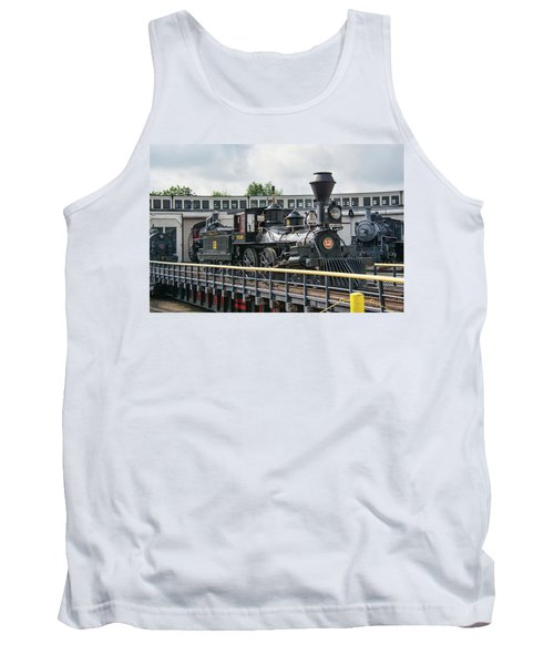 Western And Atlantic 4-4-0 Steam Locomotive Tank Top