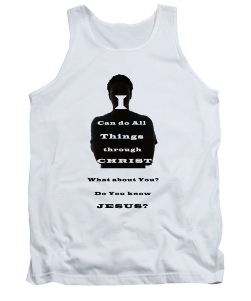 What About You? Tank Top by Terry Wallace
