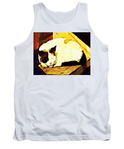 What Do Cats Dream Of Tank Top