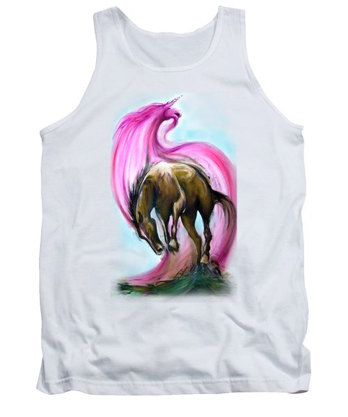 What If... Tank Top by Kevin Middleton