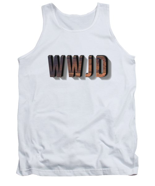 What Would Jesus Do Tee Tank Top