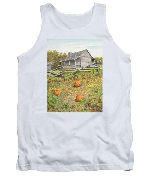 What's Left Of The Old Homestead Tank Top