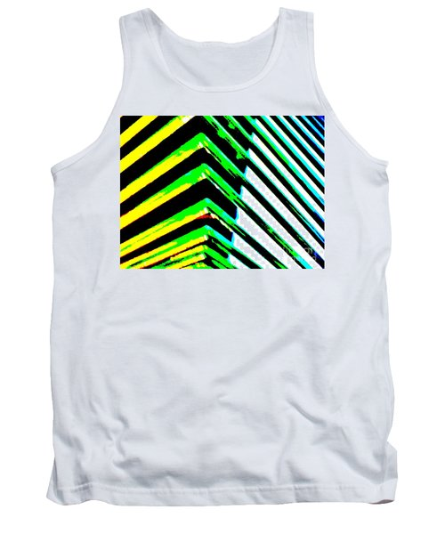 Whats Your Angle Tank Top by Tim Townsend
