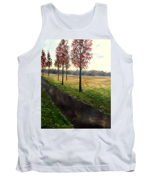 When I Think Of You Tank Top by Lisa Aerts