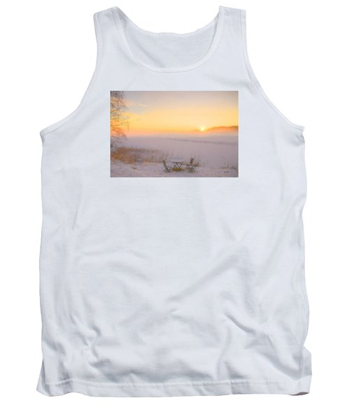 Tank Top featuring the painting When Joy Fills The Heart by Rose-Maries Pictures