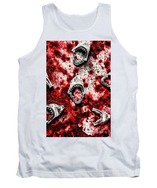 When Sharks Attack  Tank Top