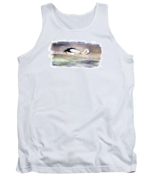 Tank Top featuring the photograph Where Is That Dam Fish 01 by Kevin Chippindall