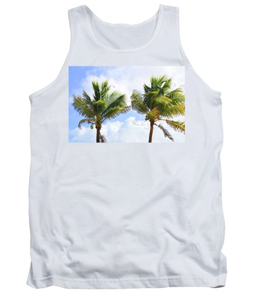 Where The Coconuts Grow Tank Top