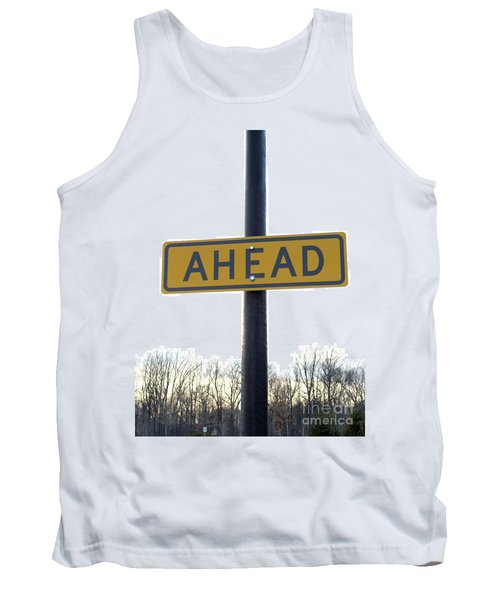 Where The Great Unknown Lies Tank Top