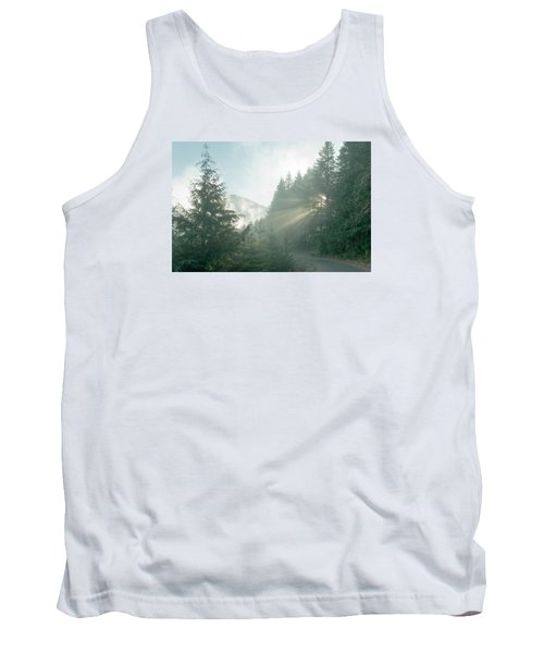 Where Will Your Road Take You? Tank Top