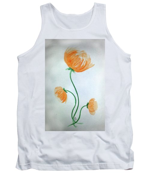 Whimsical Flowers Tank Top