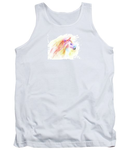 Tank Top featuring the painting Whisper by Elizabeth Lock