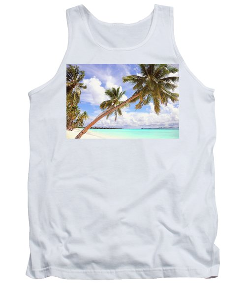 Whispering Palms. Maldives Tank Top