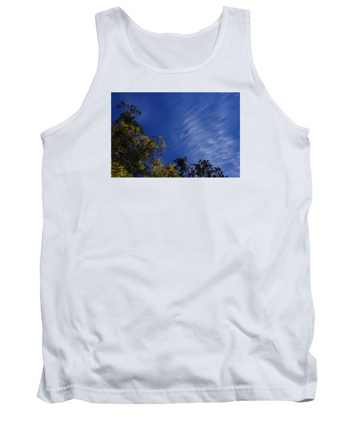 Whispy Clouds Tank Top by Adria Trail
