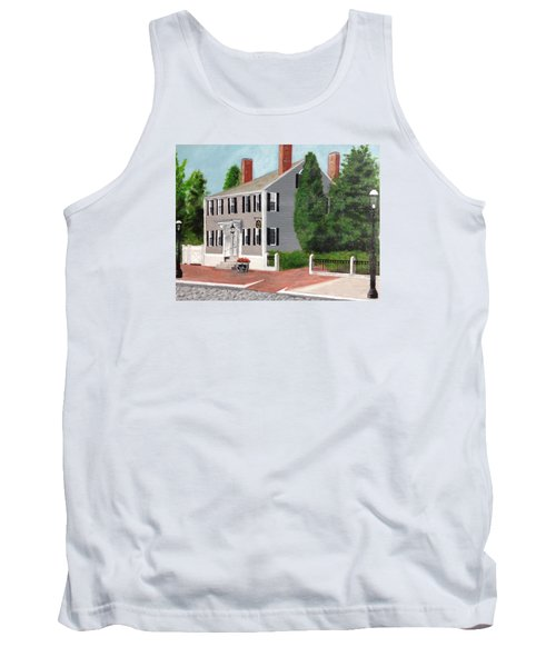Tank Top featuring the painting Whistler House by Cynthia Morgan
