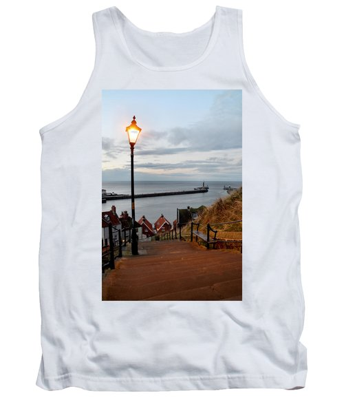Whitby Steps Blue Hour Tank Top