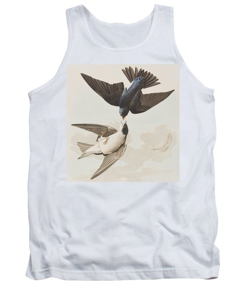 White-bellied Swallow Tank Top