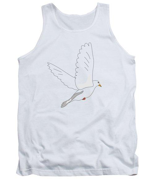 White Dove Tank Top